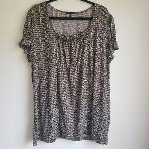 Daisy Fuentes 2x blouse